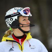 Fährt Maria Höfl-Riesch eine weitere Saison? (Foto)