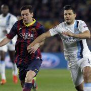 Die Champions League weckt Messi aus dem Winterschlaf (Foto)