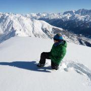Neuschnee in den Alpen am Wochenende erwartet (Foto)