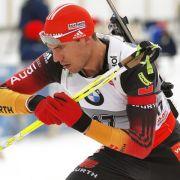 Peiffer sprintet in Kontiolahti auf Platz drei (Foto)