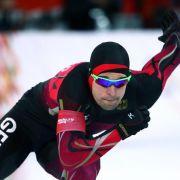 Schwarz muss Eisschnelllauf-Saison vorzeitig beenden (Foto)