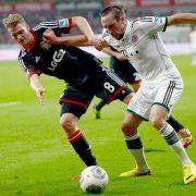 Rassiges Duell: Bayern München gegen Bayer Leverkusen.