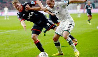 Rassiges Duell: Bayern München gegen Bayer Leverkusen. (Foto)
