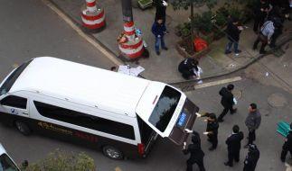 Sechs Tote bei Messerattacke auf Markt in China (Foto)