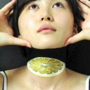 Zitronenfrisch geköpft: Hikaru Cho verblüfft immer wieder mit ihren Bodyarts.