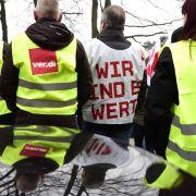 Gewerkschaften drohen mit weiteren Warnstreiks (Foto)