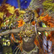 Capoeira und Samba zur WM-Eröffnung in São Paulo (Foto)