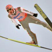 Freund zur Halbzeit der Skiflug-WM auf Goldkurs (Foto)