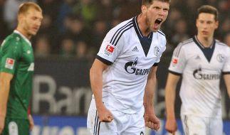 Huntelaar mit Doppelpack:Schalke gewinnt in Augsburg (Foto)