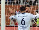 Huntelaar-Doppelpack:Schalke gewinnt beim FC Augsburg (Foto)
