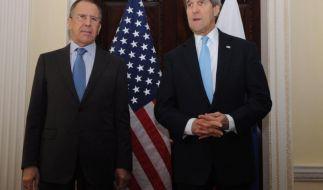 USA drohen mit «rascher» Reaktion nach Krim-Referendum (Foto)