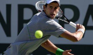 Djokovic locker ins Halbfinale von Indian Wells (Foto)