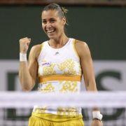 Radwanska und Pennetta im Damen-Finale von Indian Wells (Foto)