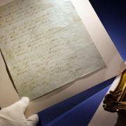 Briefe von Heine und Beethoven werden versteigert (Foto)