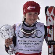 Shiffrin gewinnt auch letzten Slalom der Saison (Foto)