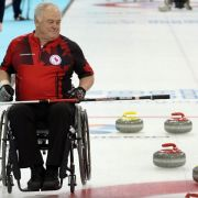 Kanada Paralympicssieger im Rollstuhl-Curling (Foto)