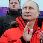 Putin trifft ukrainische Team-Führung (Foto)