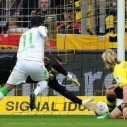 Rückschlag für Dortmund: 1:2gegen Mönchengladbach (Foto)