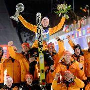 Wind-Absage: Freund holt WM-Gold im Skifliegen (Foto)