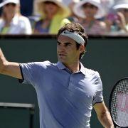 Federer zum fünften Mal im Finale von Indian Wells (Foto)
