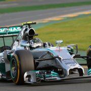 Rosberg gewinnt F1-Auftakt - Vettel früh raus: «Kopf hoch» (Foto)