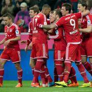 Rekord-Bayern seit 50 Spielen ungeschlagen (Foto)