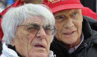 Lauda: Ohne Ecclestone würde die F1 in ein Loch fallen (Foto)