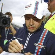 Massa will verunglückten Schumacher wieder besuchen (Foto)