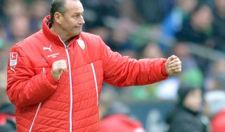 Stevens-Comeback in der Bundesliga - verbesserter VfB (Foto)