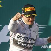 Rosberg überholt Frentzen mit viertem Karrieresieg (Foto)
