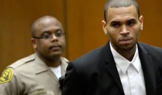 R&B-Sänger Chris Brown in Rehaklinik festgenommen (Foto)