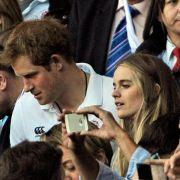 Lieblingsthema Hochzeits-Spekulationen: Prinz Harry und Cressida (Foto)
