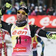 Fourcade stark:Weltcup-Gesamtsieg Nummer drei (Foto)