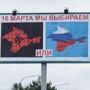 Heute die Krim, morgen die ganze Ukraine (Foto)
