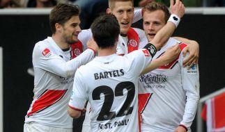 St. Pauli jubelt - Union erkämpft Punkt in Fürth (Foto)