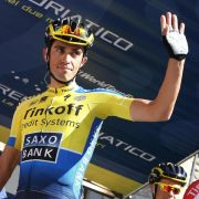 Contador mit Solosieg an die Spitze (Foto)