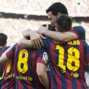 Clásico-Fieber: Real und Barcelona im Gleichschritt (Foto)