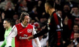 Arsenal macht Boden auf Chelsea gut: 1:0 bei den Spurs (Foto)