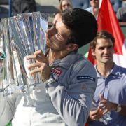 «Djoker» sticht Federer in Indian Wells aus (Foto)