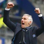 Fußball-Psychologe Slomka bringt HSV auf Kurs (Foto)