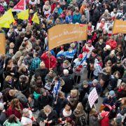 Warnstreiks: Kitas und Verwaltung geschlossen (Foto)
