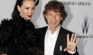 Seit Beginn der 2000er Jahre waren Model L'Wren Scott und Rolling Stones-Sänger Mick Jagger ein Paar. (Foto)