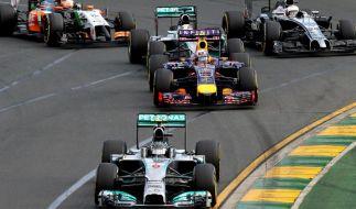 Sie sehen nicht nur anders aus, sie klingen auch anders: die neuen Formel-1-Boliden. (Foto)