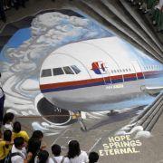 Riesiges Suchgebiet für Flug MH 370 (Foto)