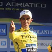 Contador gewinnt Rundfahrt in Italien (Foto)