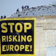 Greenpeace-Aktivisten besetzen Atomkraftwerk Fessenheim (Foto)