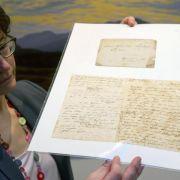 Briefe von C.D. Friedrich nach Greifswald zurückgekehrt (Foto)
