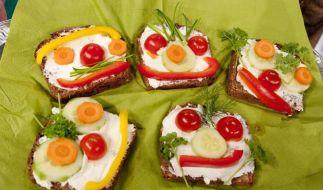 Brotgesichter können Alternative zu Süßigkeiten sein (Foto)