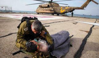 Israel und Palästinenser auf Konfrontationskurs (Foto)
