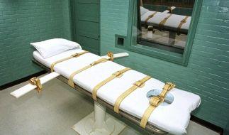 Hinrichtungsraum in einem Gefängnis im US-Bundesstaat Texas. (Foto)